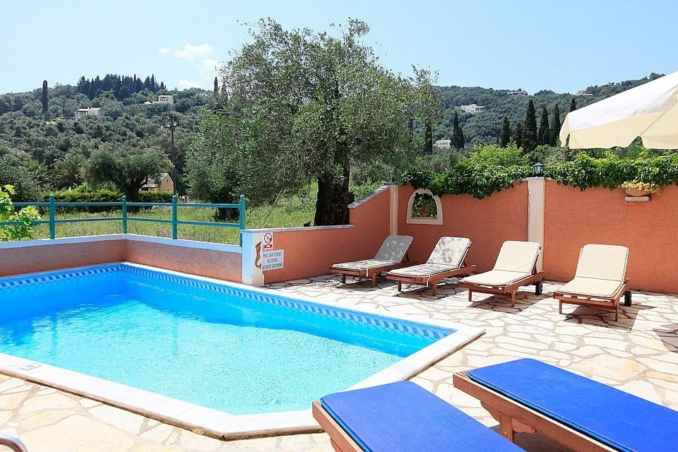 Beach House For Rent In Corfu Private Swimming Pool 2 Bedrooms