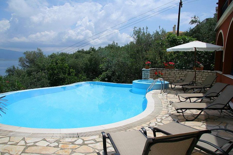 Private Villa For Rent With Swimming Pool In Corfu