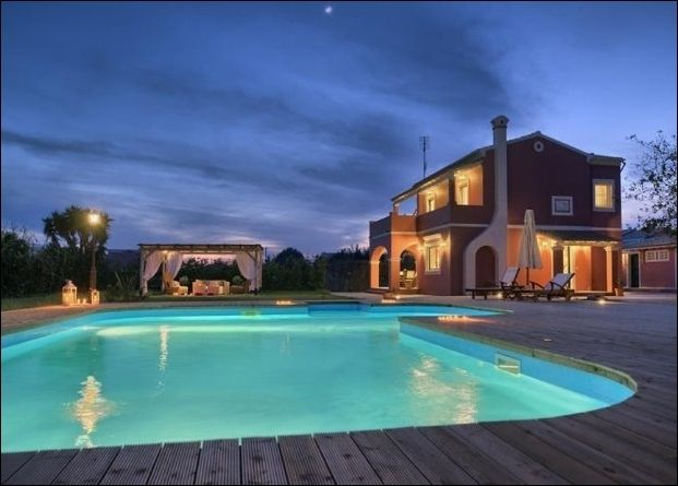 Corfu Villas Luxury Villas For Rent In Corfu Greece Cor026