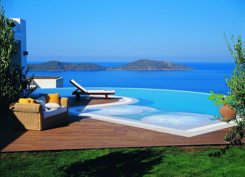 Sea View Luxury Villa Private Swimming Pool For Rent In Crete Greece