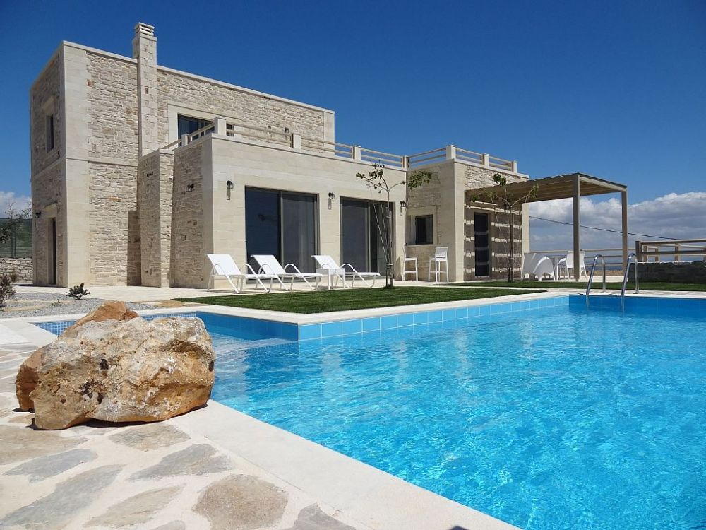 3 Bedroom Villa With Sea Views Private Pool Crete