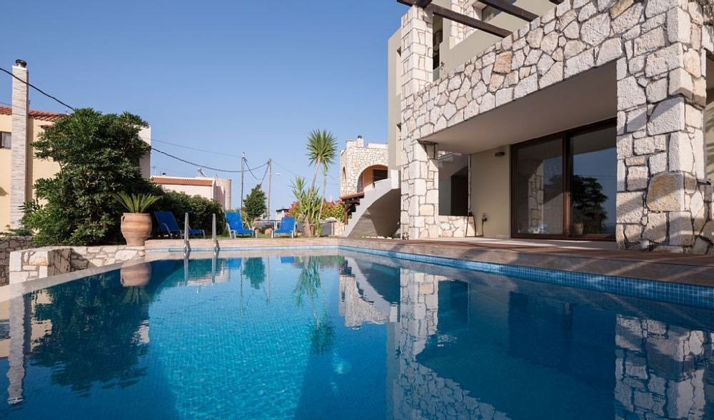 Summer villa rental with private pool in Crete, Greece
