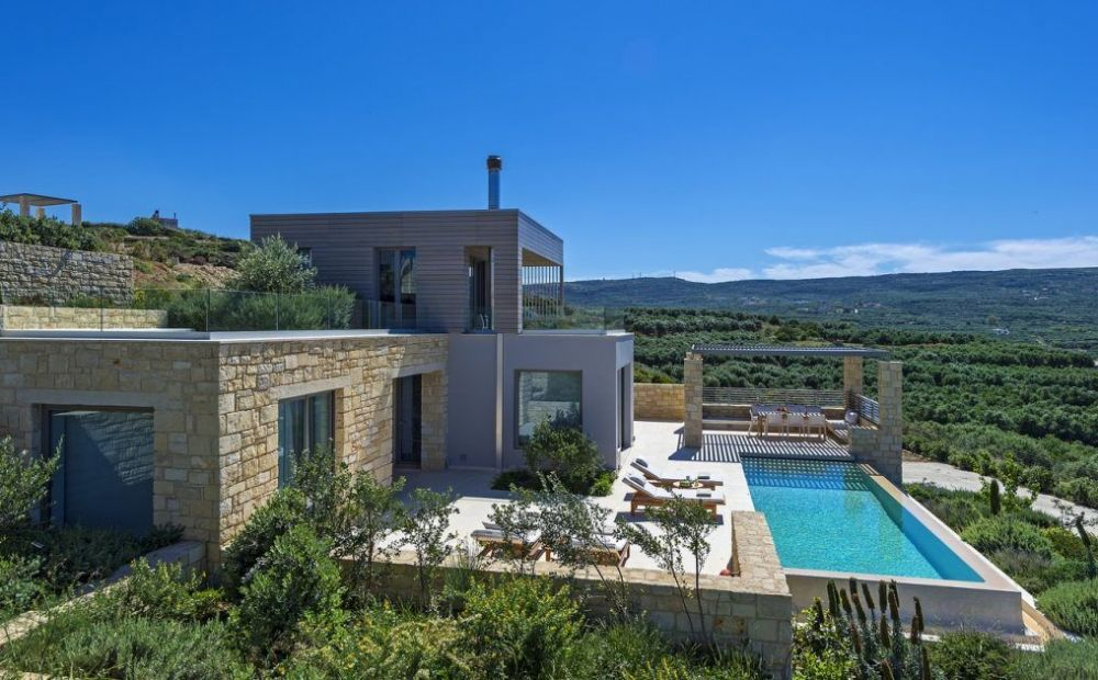 Villas Houses With Sea View For Rent In Crete Greece