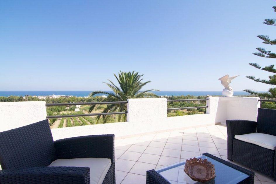 Villa For Rent In Crete Greece Crt128