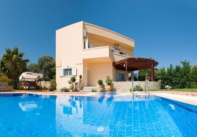 Private Villa With Swimming Pool For Rent In Crete Greece Crt291