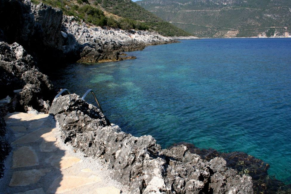 Участок в Лефкада на берегу моря