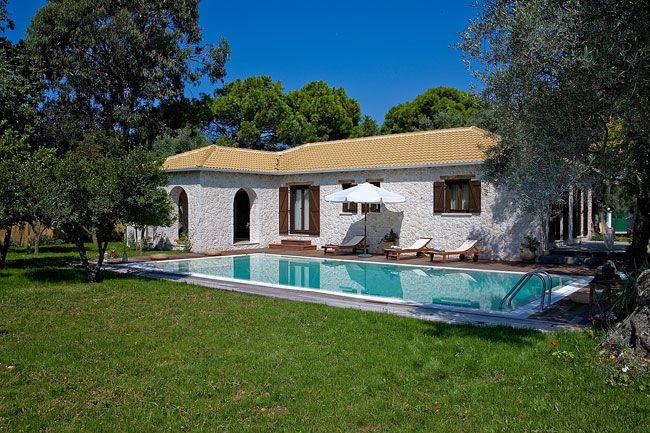 Greece villas for rent villas in lefkada villas in - Giardini villette private ...