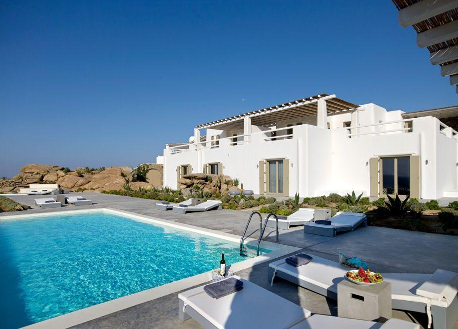Villas To Rent In Chora Naxos