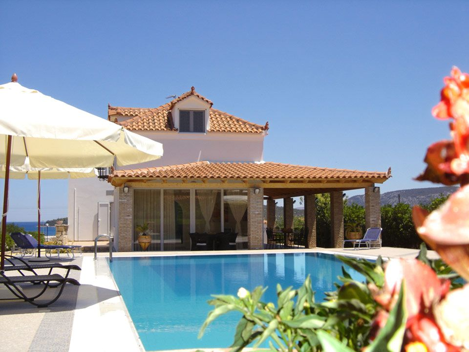 Villa For Rent With Pool In Peloponnese Greece Pel145