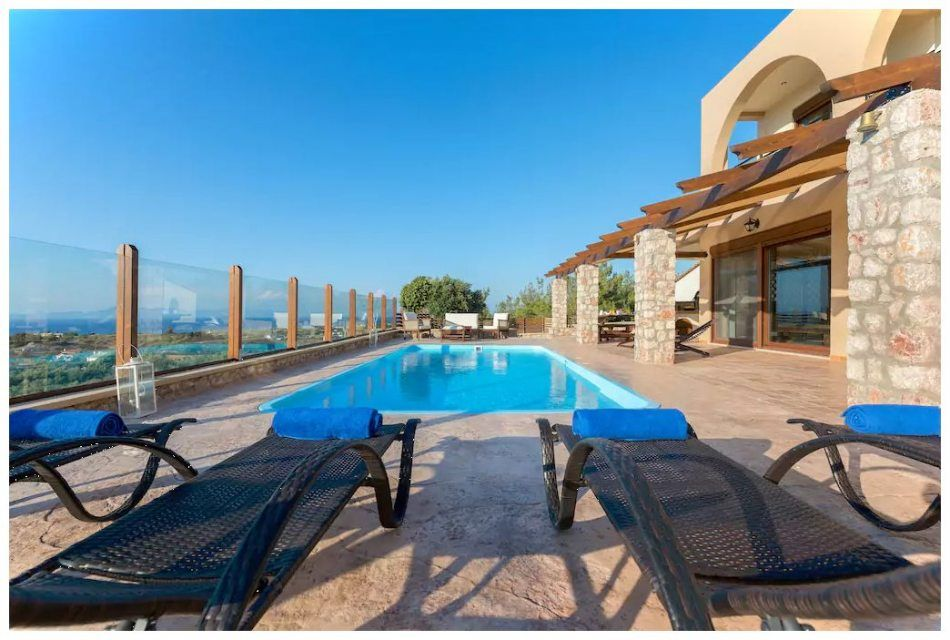 6 Bedrooms Villa With Private Swimming Pool For Rent In Rhodes Greece