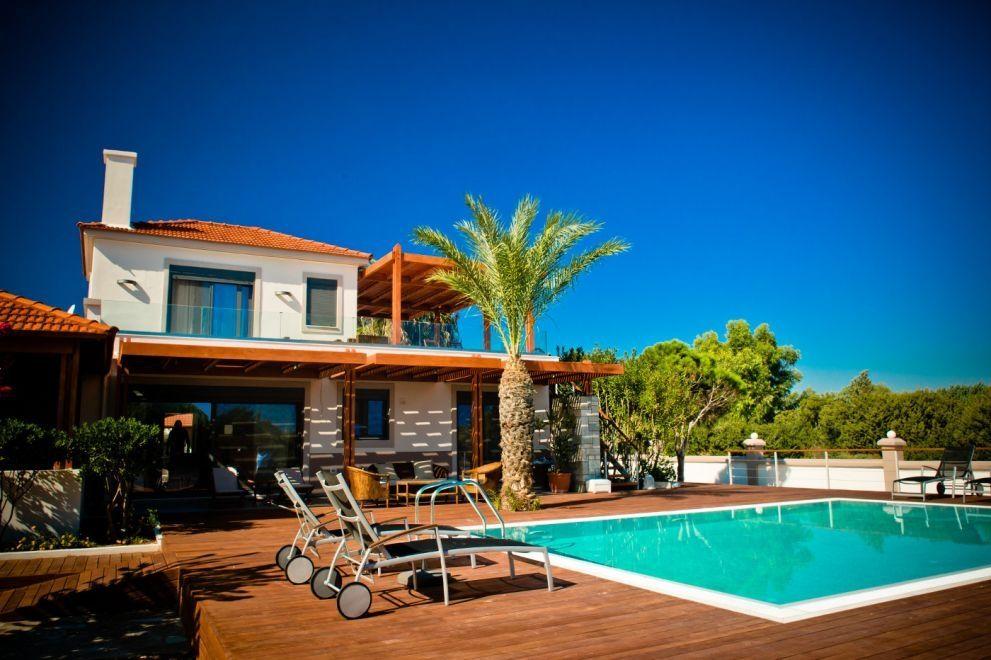 Beachfront Villa for rent in Rhodes, Greece